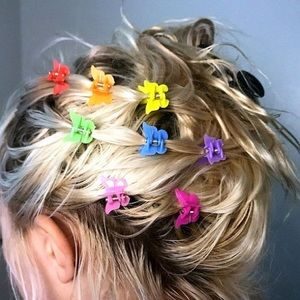 90s style Butterfly Clips